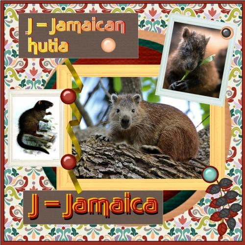 Oct. 2016 - J = Jamaican hutia