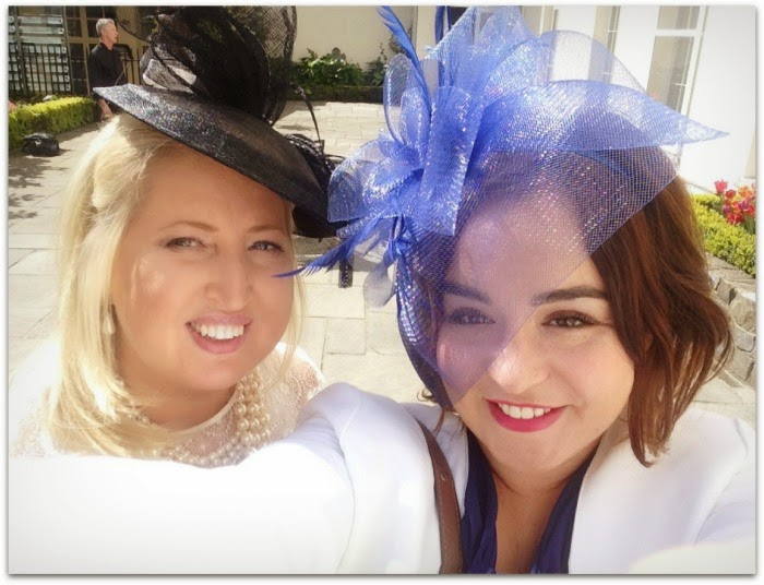 Punchestown Races with Gold Fever Hair Extensions