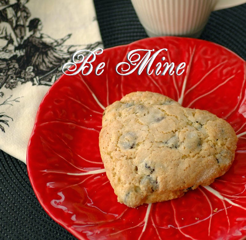 """... Time in the Kitchen: """"Be Mine"""" Chocolate Chip and Dried Cherry ..."""