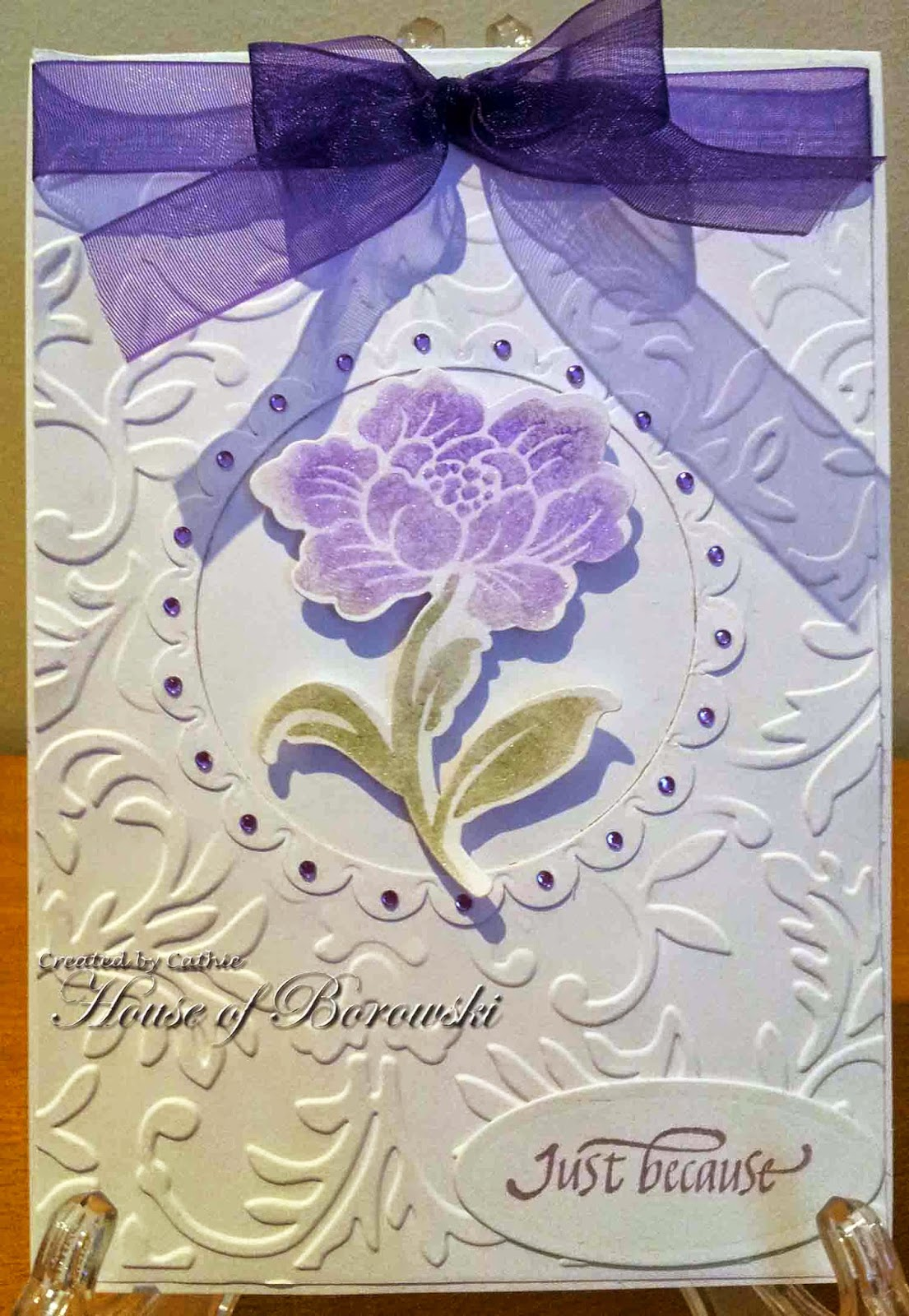 Diecut Divas In the Garden, Hero Arts and Sizzix Framelets Floral