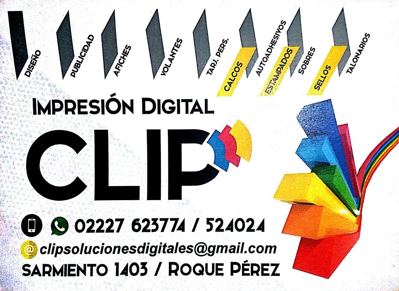 CLIP IMPRESIONES DIGITALES