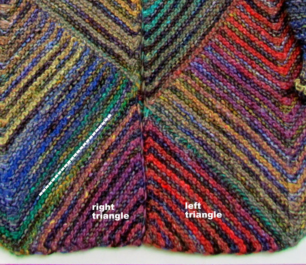 Melody johnson mitered diamond jacket pattern these can be knit now or at the very end they are picked up along the inside edge of the center fronts bankloansurffo Choice Image