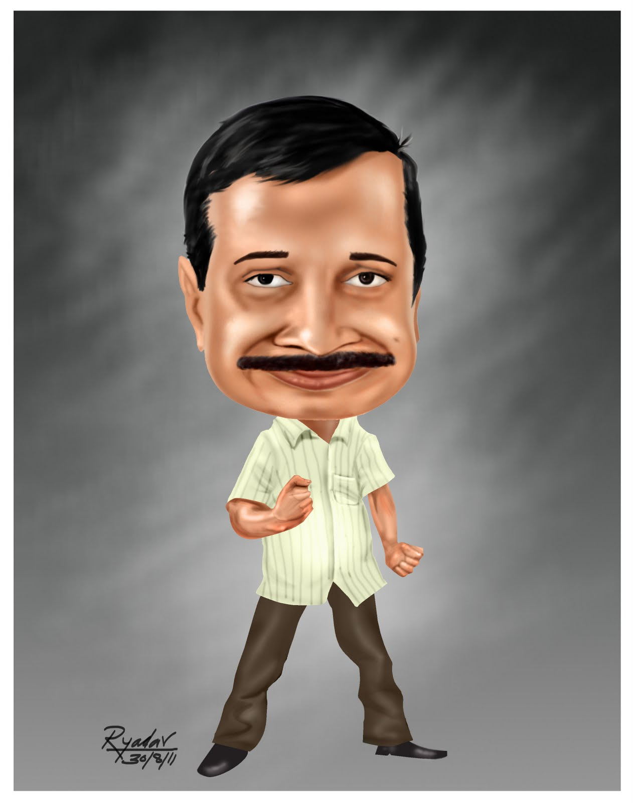 caricaturecartoon: arvind kejariwal cartoon caricature