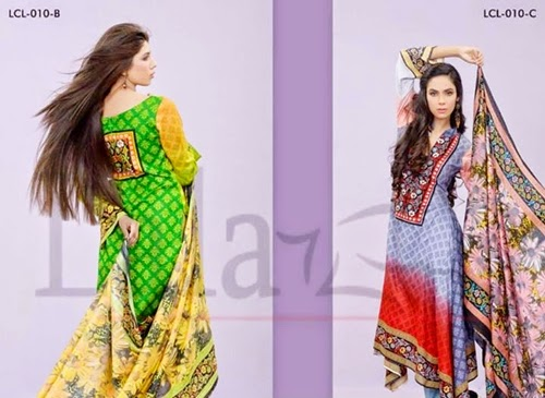 Lala Summer Classic Lawn Collection 2014