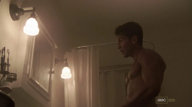 Jon Bernthal Shirtless in The Walking Dead s2e03