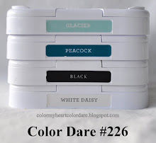 This week's color dare.