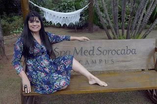 Mara Maravilha está no Spa Med Sorocaba Campus
