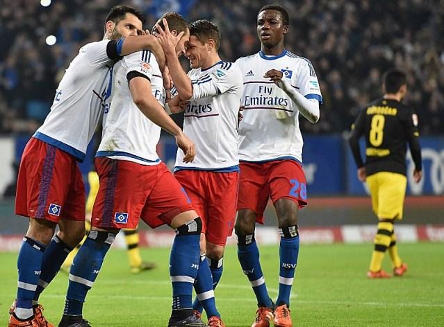 Hamburg vs Borussia Dortmund score 3-1 German Bundesliga