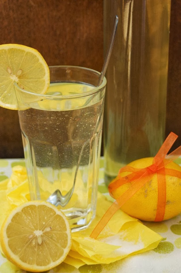 Ingwer-Melissen-Zitronen Sirup