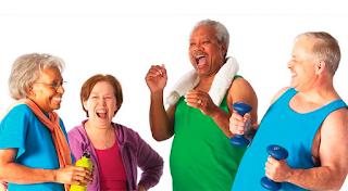Exercício físico na terceira idade trazendo qualidade de vida!