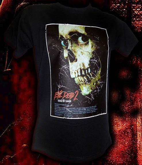 Evil Dead shirts