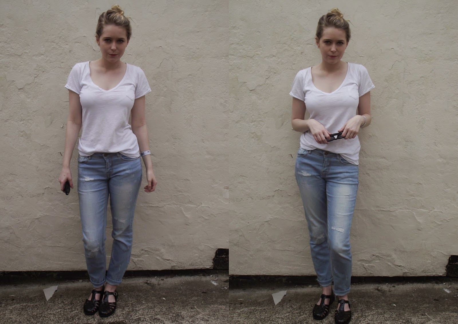 Back to Basics Outfit featuring H&M, ASOS & Primark on Lrsmth-Fashion.