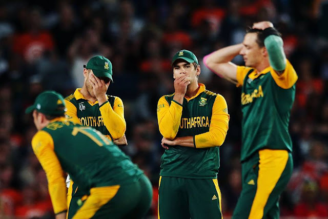 Dejected Proteas