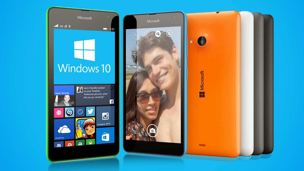Tampilan Windows 10 Pada Smartphone Lumia