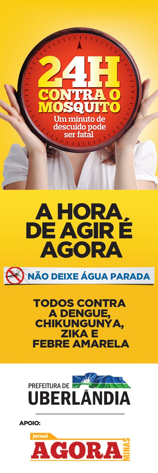 AGORA É HORA DE AGIR-VAMOS ACABAR COM A DENGUE