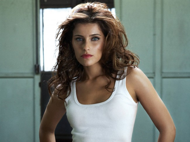 Nelly Furtado Hot Brunette Colour Hairstyle 8