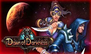 Screenshots of the Dawn of Darkness for Android tablet, phone.