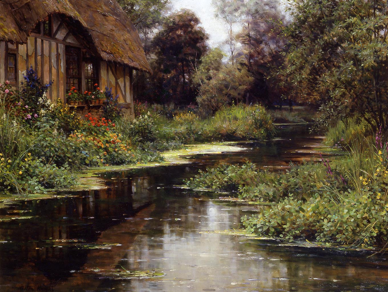 19th century american paintings louis aston knight ctd