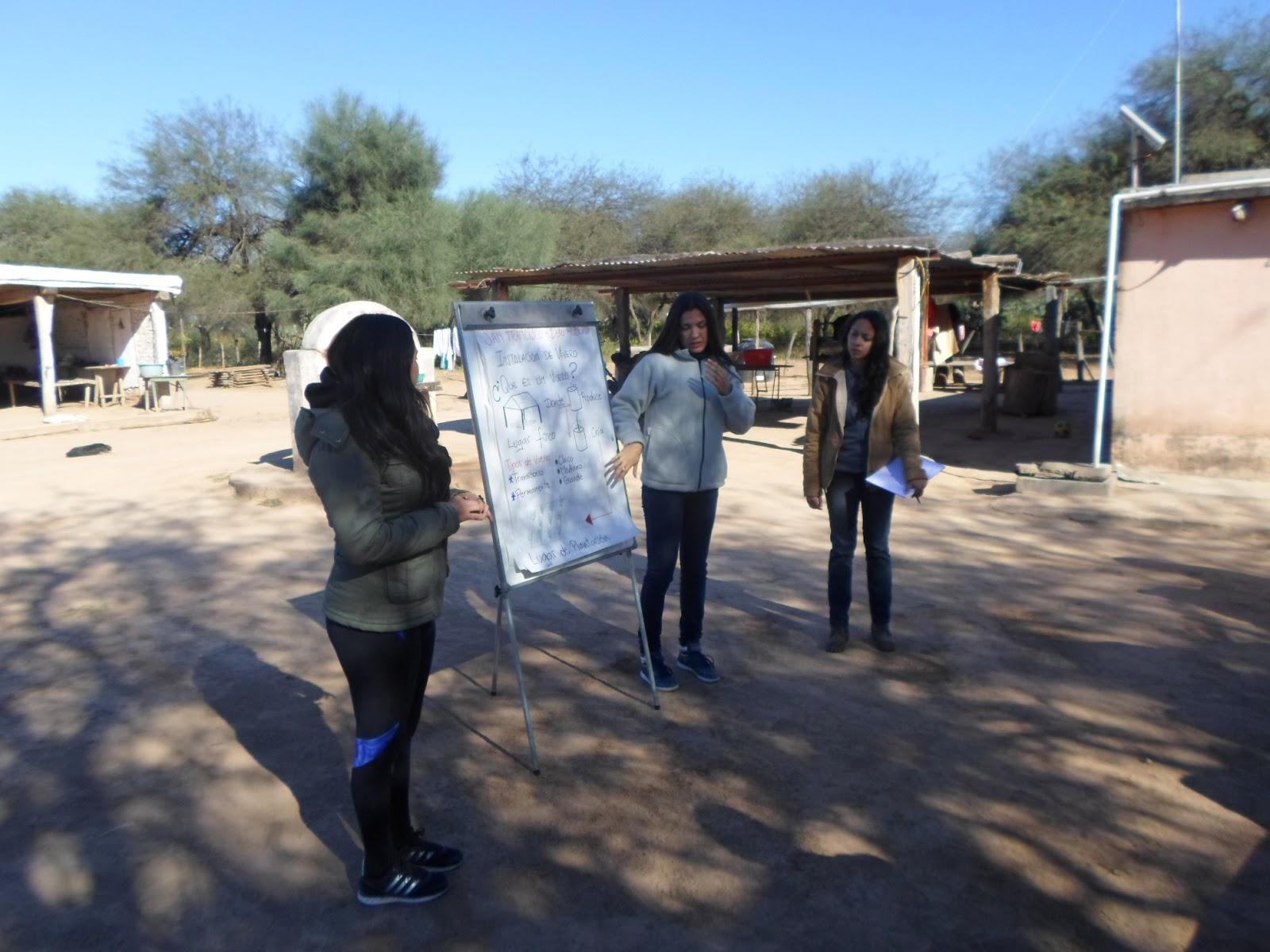 Parque chaque o forestal asistencia en la construcci n for Materiales para la construccion de un vivero