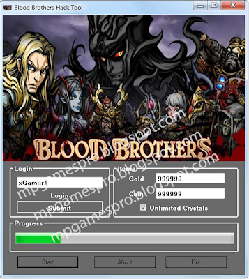Blood Brothers Hack cheat Tool 2013 ~ MultiPlayers games