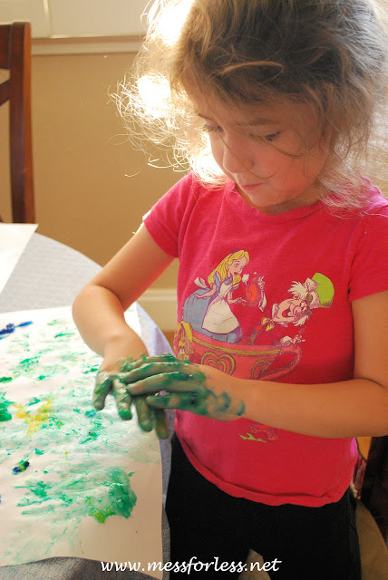 finger paint recipe for toddlers