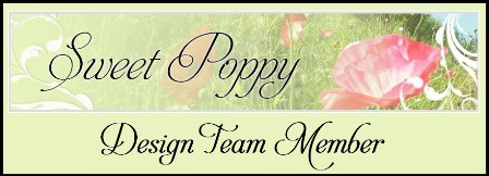 Proud to be a Sweet Poppy Design Team Member