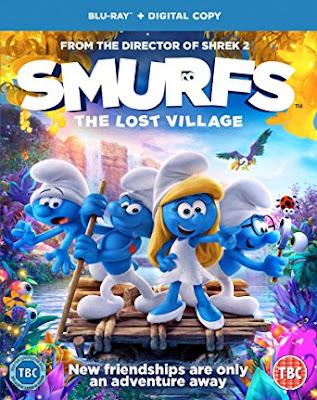 Filme Poster Os Smurfs e a Vila Perdida