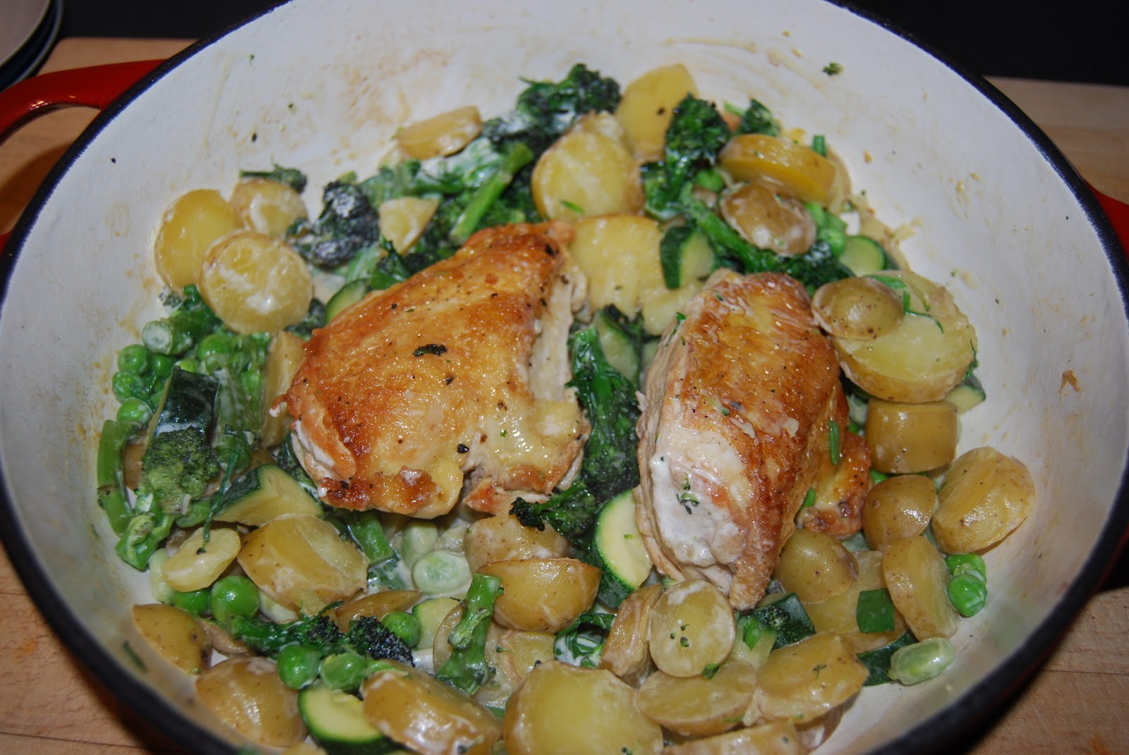The Diary of an Unaccomplished Cook: Chicken & Spring Vegetable Stew