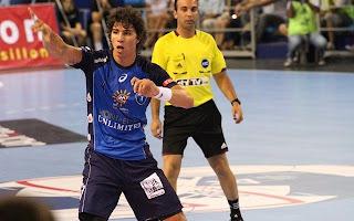 Primeros dos goles de Diego Simonet con la camiseta del Montpellier | Mundo Handball