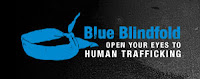 Blue Blindfold Campaign looking at human trafficking
