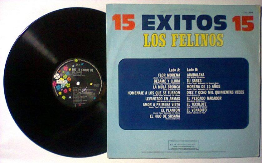 Los Felinos – 15 Exitos (320 kbps)