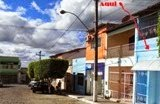 Vende-se um imóvel residencial com um ponto comercial em Mairi