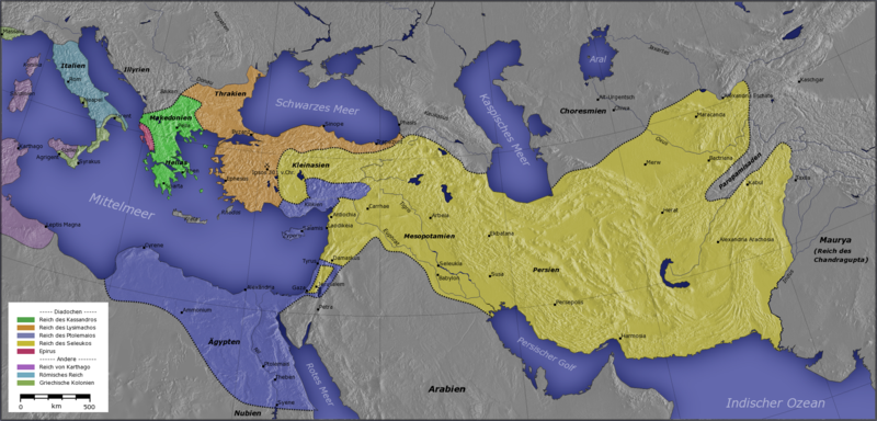 Карта переселения народов 4-7 веков нашей эры