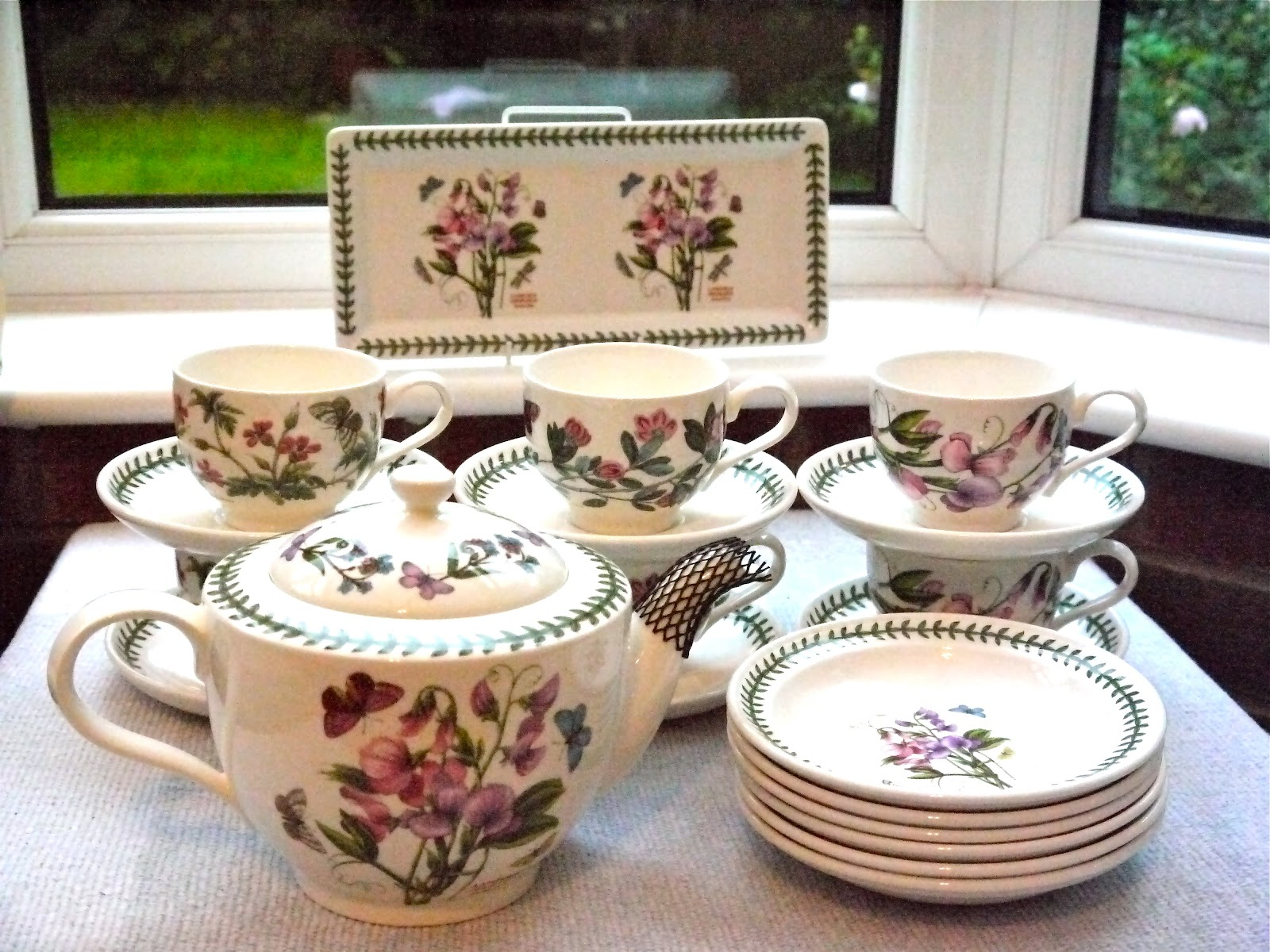 Kitch 39 N 39 Chic Portmeirion Botanic Garden 20 Pcs Tea Set