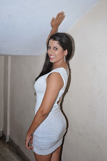 Actress Sravya Reddy Latest  Picture Gallery in Short Dress  006