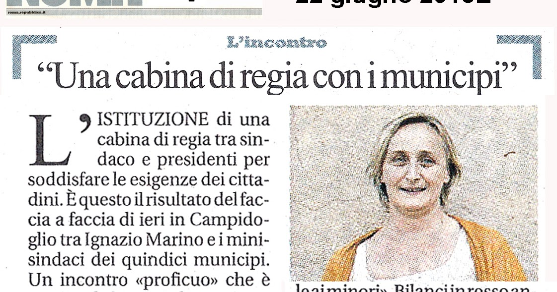 Tg roma talenti un 39 importante iniziativa del sindaco for Costruttori di cabina del minnesota