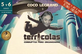 Coco Legrand en Chile 2015 Teatro nescafe Fechas y entradas ticketek baratas hasta adelante