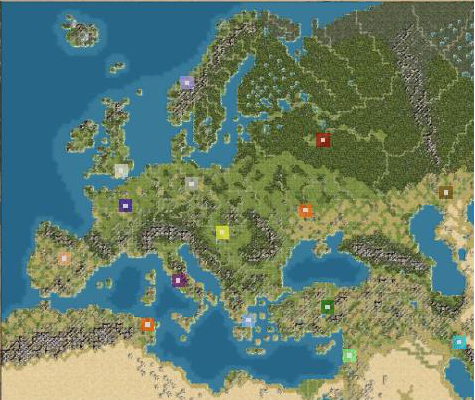 Map of Europe Cities Pictures Maps of Europe Geographical Area