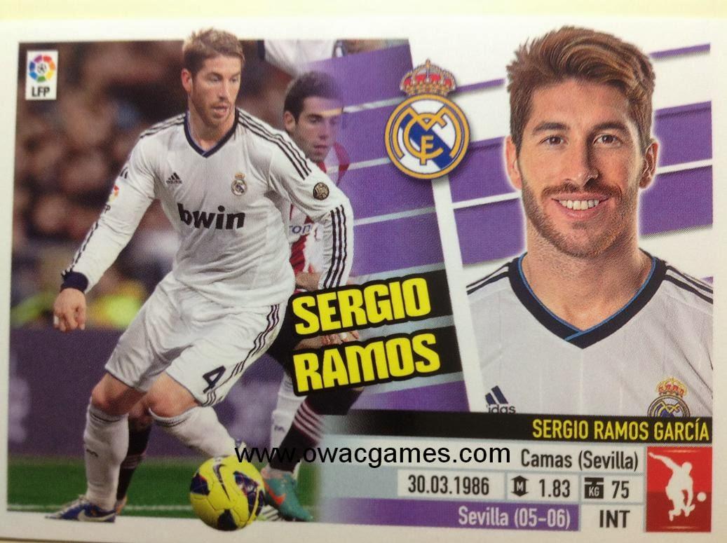 Liga ESTE 2013-14 Real Madid - 4 - Sergio Ramos