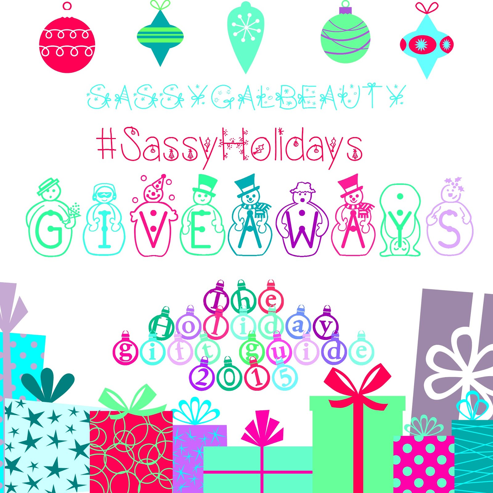 #SassyHolidays Holiday Giveaways