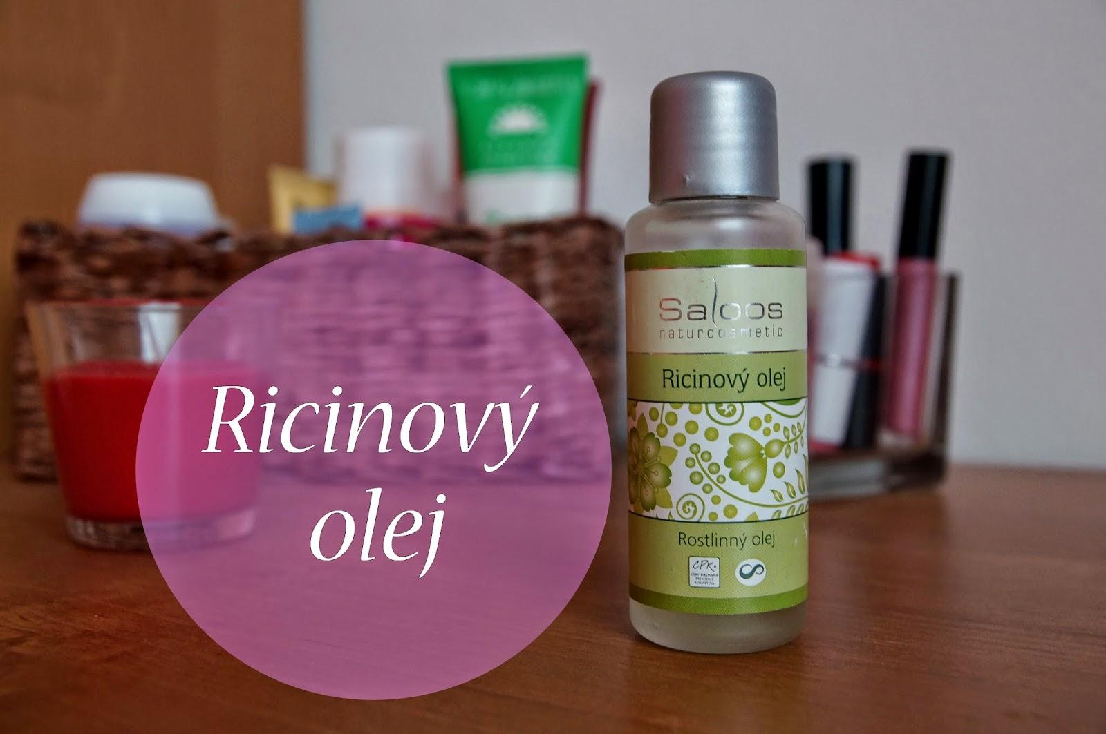 ricinovy olej na vlasy použití