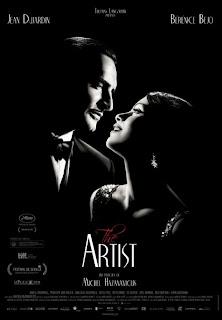 Cartel de la película The Artist, de Michel Hazanavicius