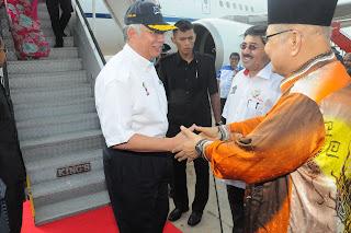 Gambar: MB rakyat Kedah sambut Perdana Menteri rakyat BN