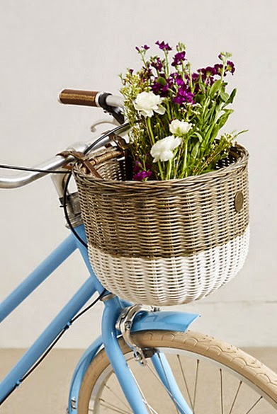 cute bike basket
