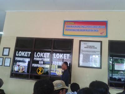 Tips Membuat SIM A atau C Baru di Polres Kabupaten Blitar