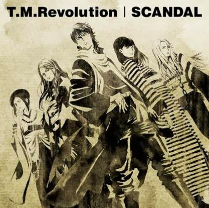 Press Release: T.M.Revolution | SCANDAL, Split Single Released!!‏