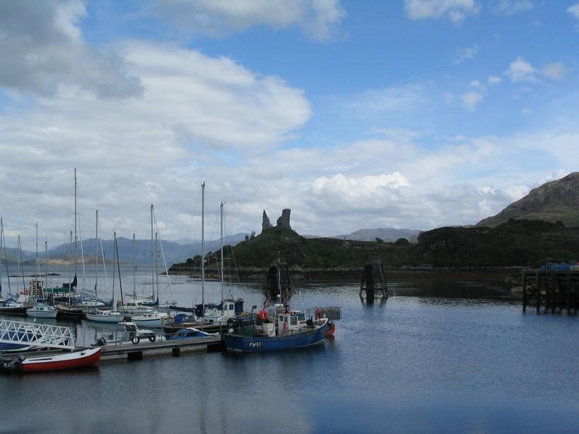 Scottish lady corpach naar portree eiland skye - Tafelhuis van het wereld lange eiland ...