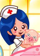 Лечим животных - Онлайн игра для девочек