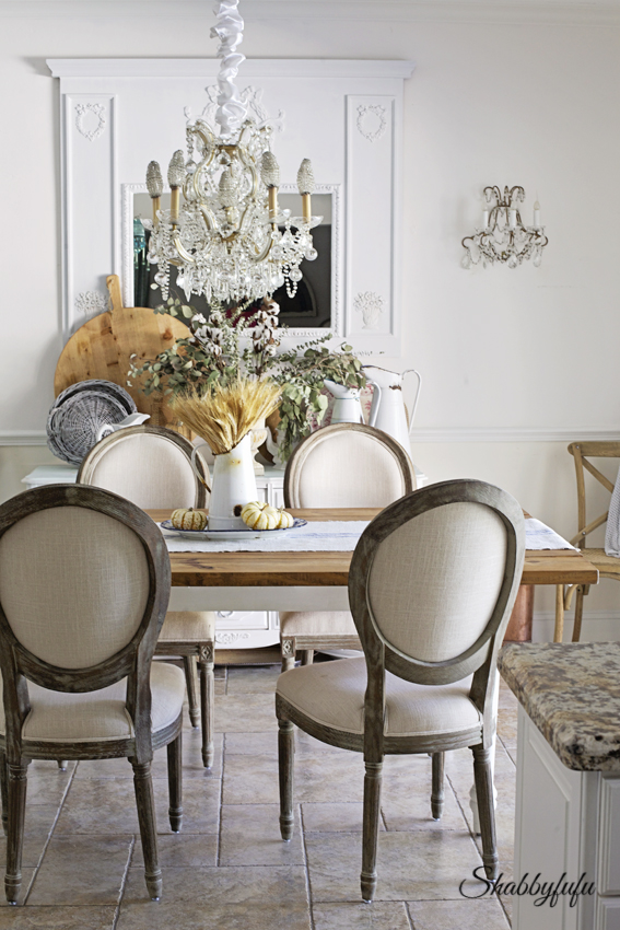 Chair Slipcovers To Change The Look Of A Dining Room