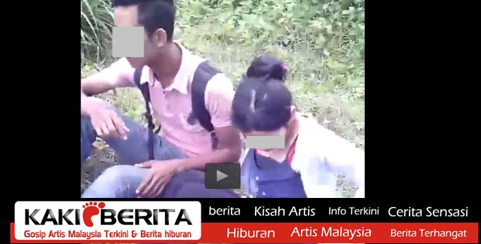 VIDEO Kantoi Beromen Pasangan Kekasih Dipaksa Teruskan Maksiat